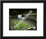 Cowboys Stadium Opening Night 2009 Framed Photographic Print