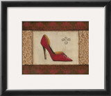 Fashion Shoe I Prints by Sophie Devereux