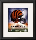 Bengals Helmet Logo ('04) Framed Photographic Print