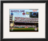 Target Field 2010 Inaugural Game 1st Pitch Framed Photographic Print