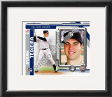 Mark Teixeira 2010 Framed Photographic Print