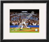 Mariano Rivera The Final Pitch of the Final Game at Yankee Stadium Framed Photographic Print
