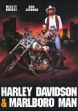 Harley Davidson and the Marlboro Man Masterprint