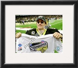 Drew Brees 2009 NFC Championship Game Framed Photographic Print