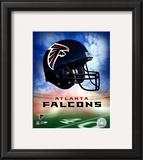 Atlanta Falcons Helmet Logo Framed Photographic Print