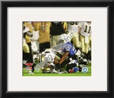 Roman Harper &amp; Chris Reis Onside Kick Recovery Super Bowl XLIV Framed Photographic Print