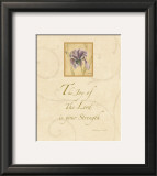 Inspirational Iris IV Prints by Cheri Blum