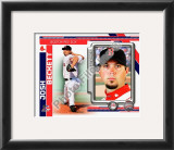 Josh Beckett 2010 Framed Photographic Print