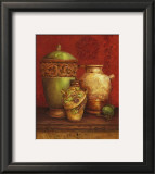 Tuscan Urns I Posters by Pamela Gladding