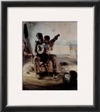 The Banjo Lesson Prints by Henry Ossawa Tanner