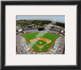 Dodger Stadium 2010 Opening Day Framed Photographic Print