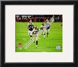 Tracy Porter Super Bowl XLIV Interception & Touchdown Return Framed Photographic Print