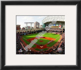 Minute Maid Park 2010 Opening Day Framed Photographic Print