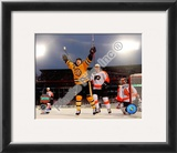 Marco Sturm Game Winning Goal Horizontal 2010 NHL Winter Classic Framed Photographic Print
