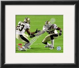 Reggie Bush &amp; Pierre Thomas Super Bowl XLIV Celebration Framed Photographic Print