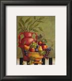 Fresco Fruit I Posters by Jillian Jeffrey