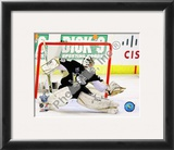 Marc-Andre Fleury Game 3 of the 2008 NHL Stanley Cup Finals Action; 11 Framed Photographic Print