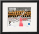 The Boston Bruins Team Photo 2010 NHL Winter Classic Framed Photographic Print