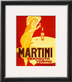 Vermouth Torino Prints by Marcello Dudovich