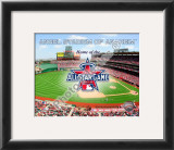 Angel Stadium with 2010 MLB All-Star Game Framed Photographic Print