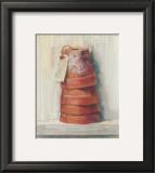 Terracotta Pots Posters by Carol Rowan