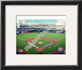 Oakland-Alameda County Coliseum 2010 Opening Day Framed Photographic Print