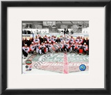 The Philadelphia Flyers Team Photo 2010 NHL Winter Classic Framed Photographic Print