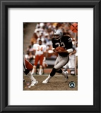 Marcus Allen - Black Uniform With Ball Framed Photographic Print