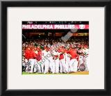 2009 Philadelphia Phillies 2009 National League Champions Framed Photographic Print