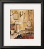 French Bath II Prints by Marilyn Hageman