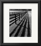 Fences and Shadows, Florida Poster by Monte Nagler