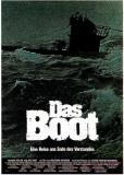 Filmposter Das Boot, 1981, Engelse versie Masterprint