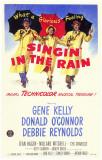 Cantando bajo la lluvia Lámina maestra