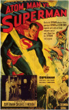 Atom Man vs. Superman Masterprint