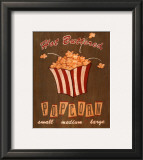 Hot Buttered Popcorn Poster by Louise Max