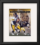 Ben Roethlisberger - Portrait Plus 2004 Composite Framed Photographic Print