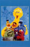 Sesame Street Masterprint