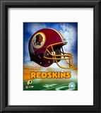 Washington Redskins Helmet Logo Framed Photographic Print