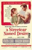 Vlak do stanice Touha / A Streetcar Named Desire, 1951 (filmový plakát vangličtině) Masterprint