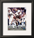Larry Csonka - Rushing With Ball Framed Photographic Print