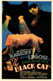 The Black Cat Masterprint