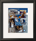2006 - 2007 Mavericks Team Composite Framed Photographic Print