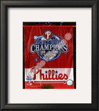 Philadelphia Phillies 2008 World Series Champions Framed Photographic Print