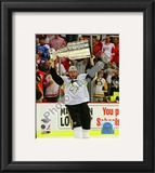 Jordan Staal Game 7 - 2008-09 NHL Stanley Cup Finals With Trophy Framed Photographic Print