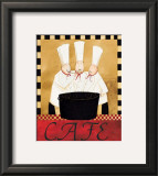 Three Chefs Soup Bistro II Prints by Dan Dipaolo