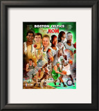2008 Boston Celtics Then & Now Framed Photographic Print