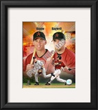 Craig Biggio and Jeff Bagwell Framed Photographic Print