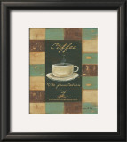 Patchwork Coffee: Consciousness Print by Grace Pullen