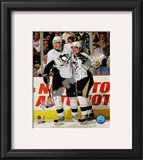 Sidney Crosby &amp; Evgeni Malkin Framed Photographic Print