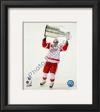 Pavel Datsyuk with the Stanley Cup, Game 6 of the 2008 NHL Stanley Cup Finals; 29 Framed Photographic Print